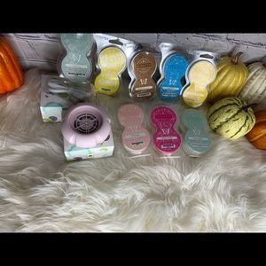 Scentsy fan diffuser and pods